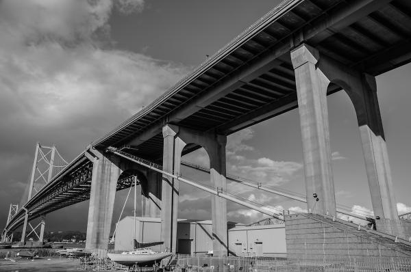 The Old Forth Bridge