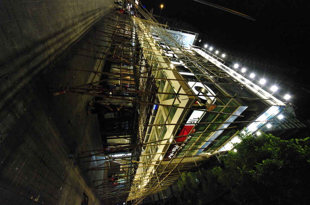 棚架-香港之光 Scaffolding - Proud of Hong Kong