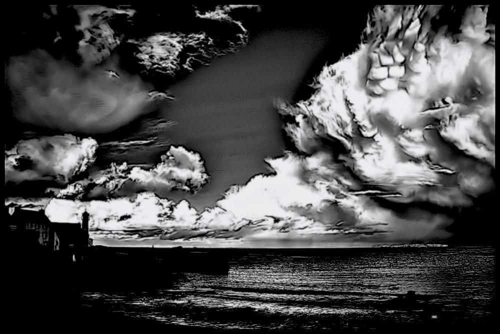 Rather evil sky