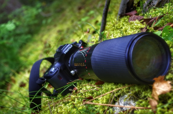 Pentax go's to the mountains