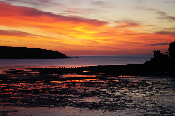 Sunrise over The Solway