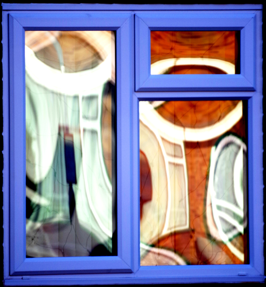 Abstract Window Reflection