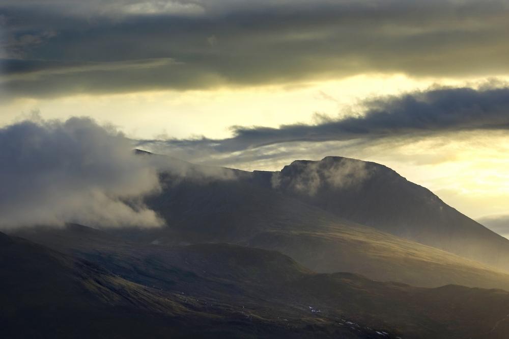 Evening Light Ben Nevis