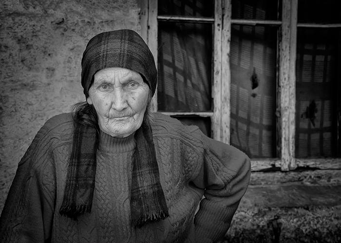 Old Lady from Pansheti