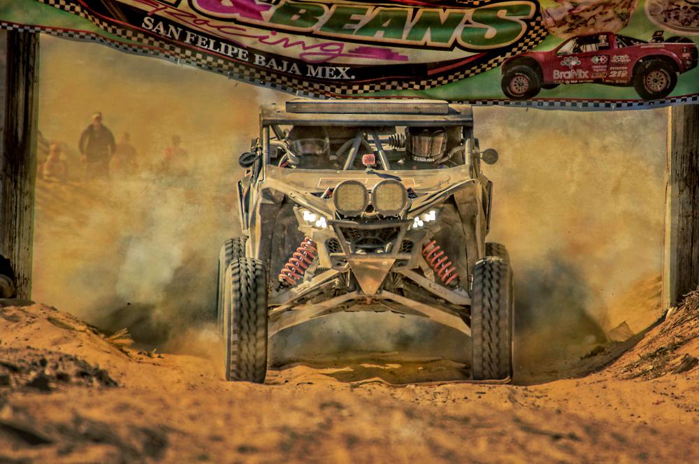 San Filipe's Desert Mayham Dune-buggy Race, Mexico