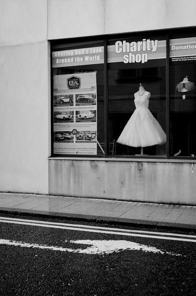 Targeting a dress