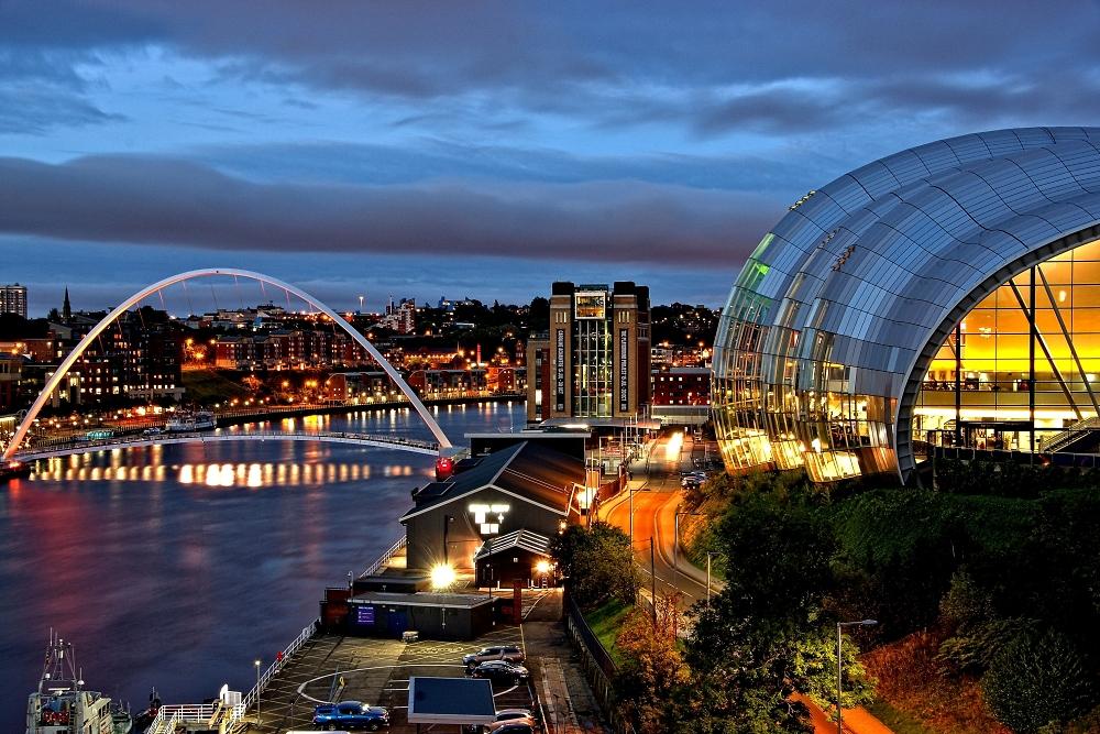 The Sage and Millennium bridge