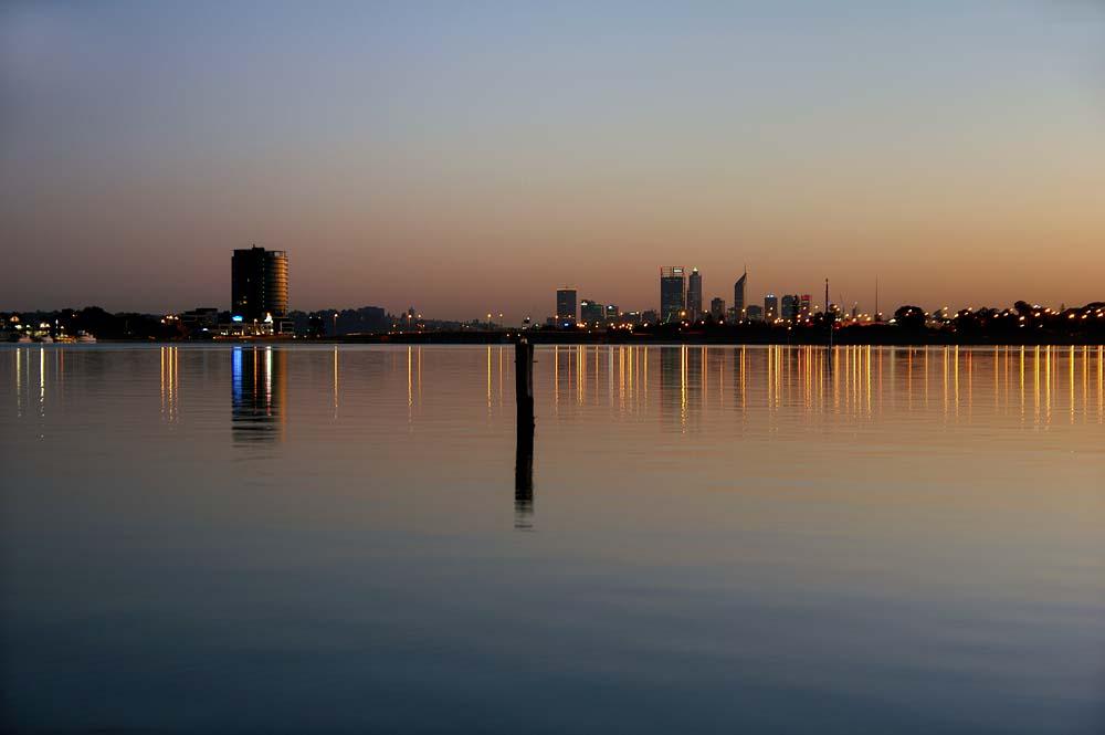 Perth dawn