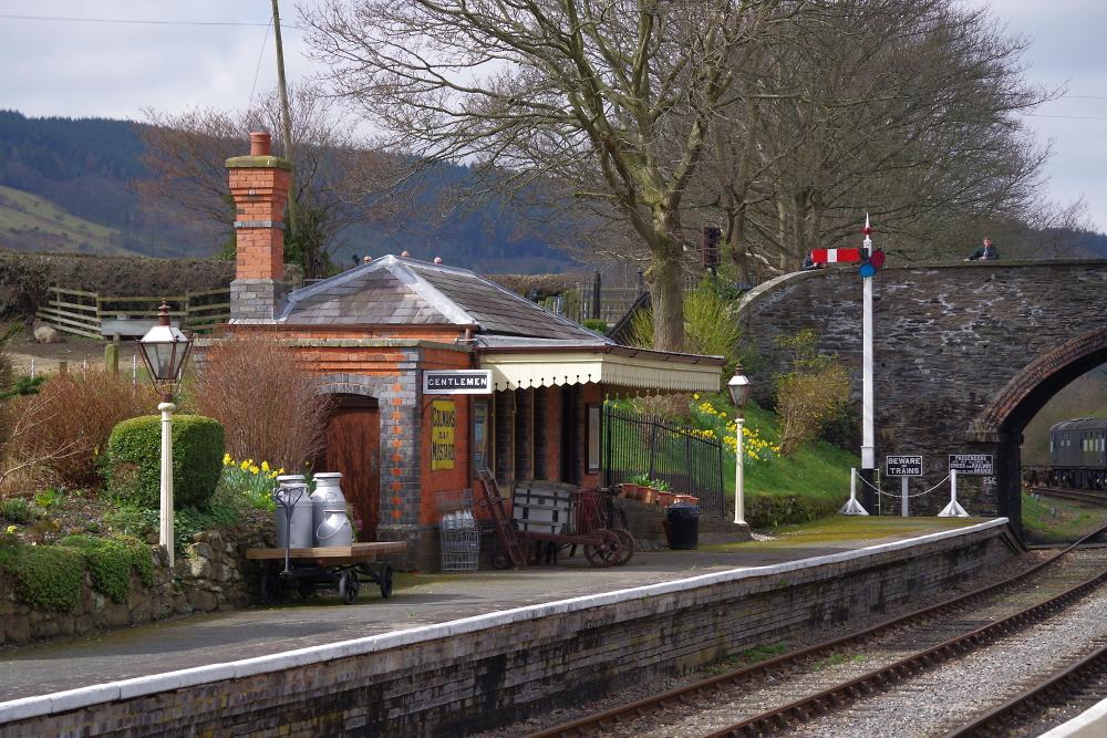 Carrog Sta. Llangollen Railway