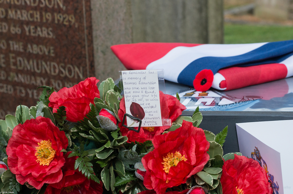Pte Thomas Edmundson Who once was lost but now is found