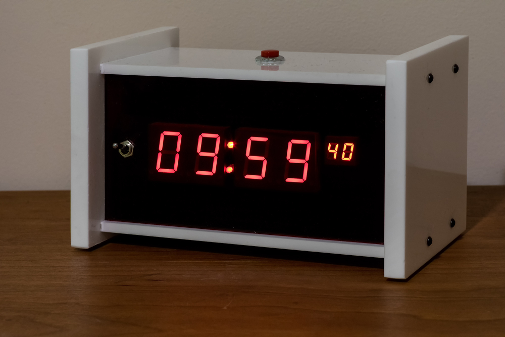 Rapberry PI Digital Clock