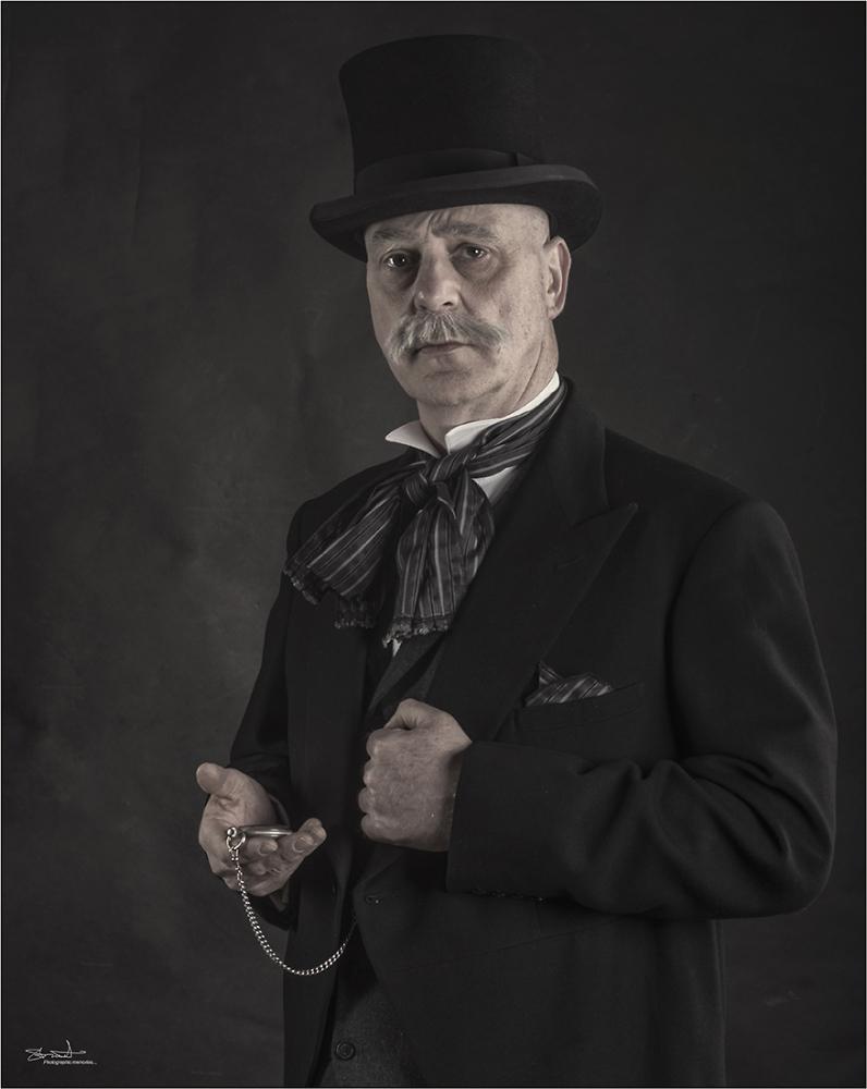 A Victorian gent...