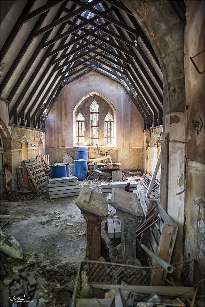 Chapel in ruin....