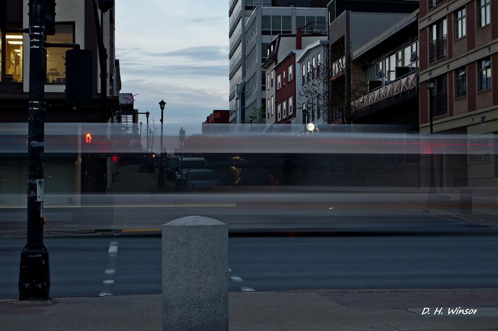Low light long Exposure Street Photo