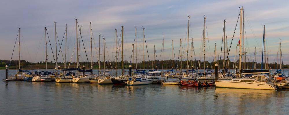 Sleeping Yachts