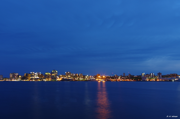 Halifax Skyline - Blue Hour