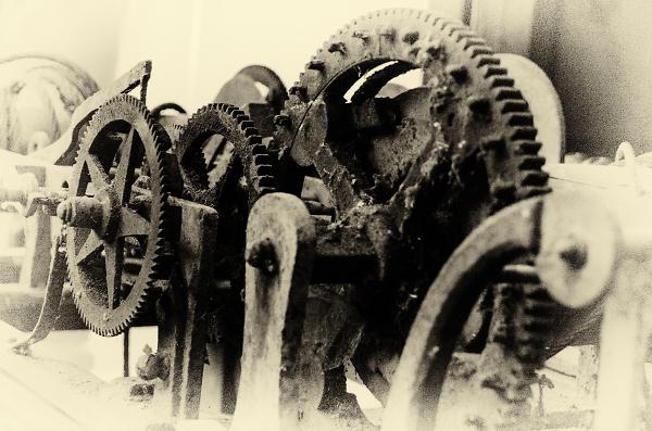 Les rouages du temps qui passe - The workings of time passing