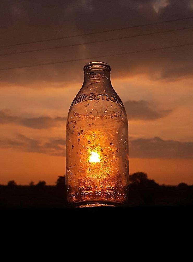 Sunny bottle