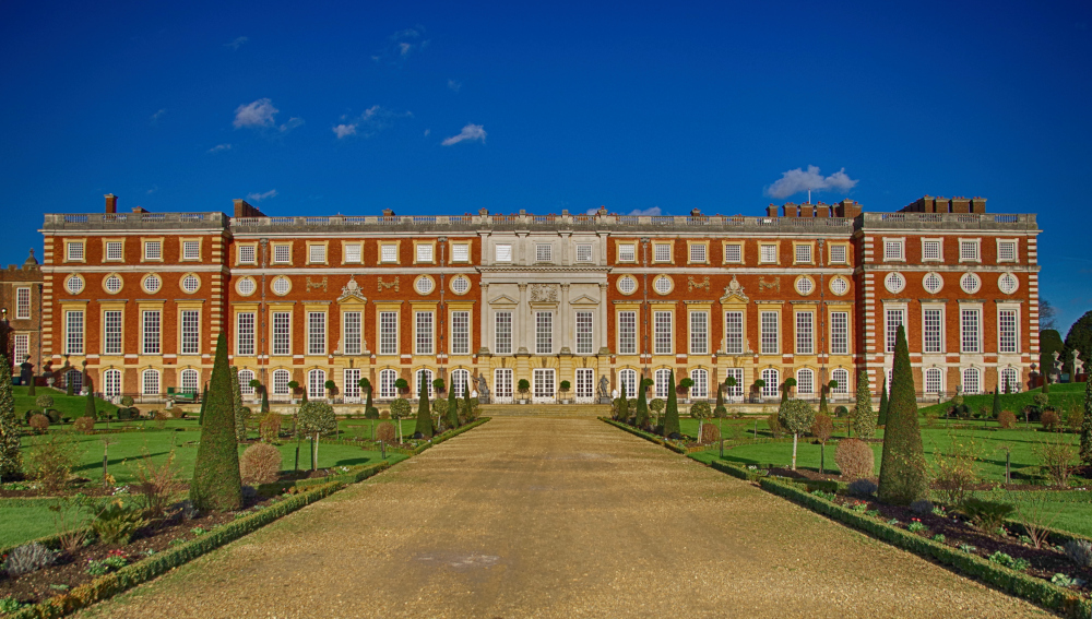 The William & Mary Wing at Hampton Court Palace