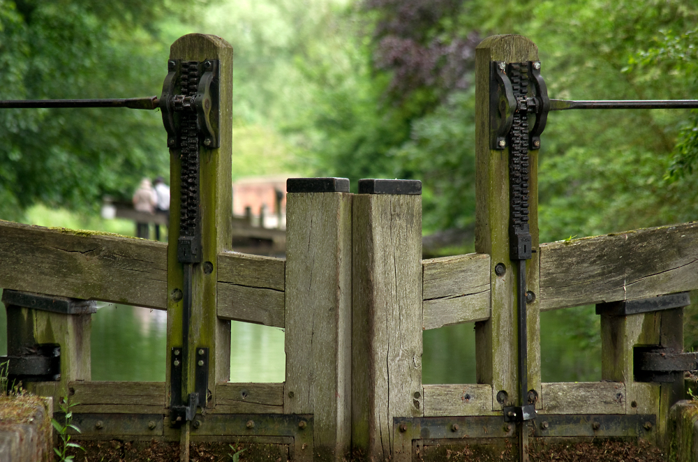 Lock Gates & Out of Focus