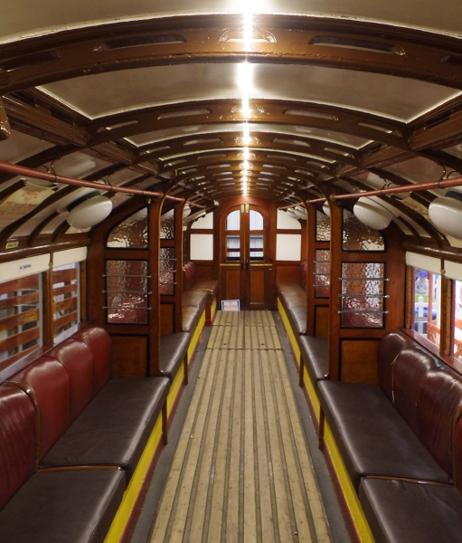 Edwardian Subway  Train Interior