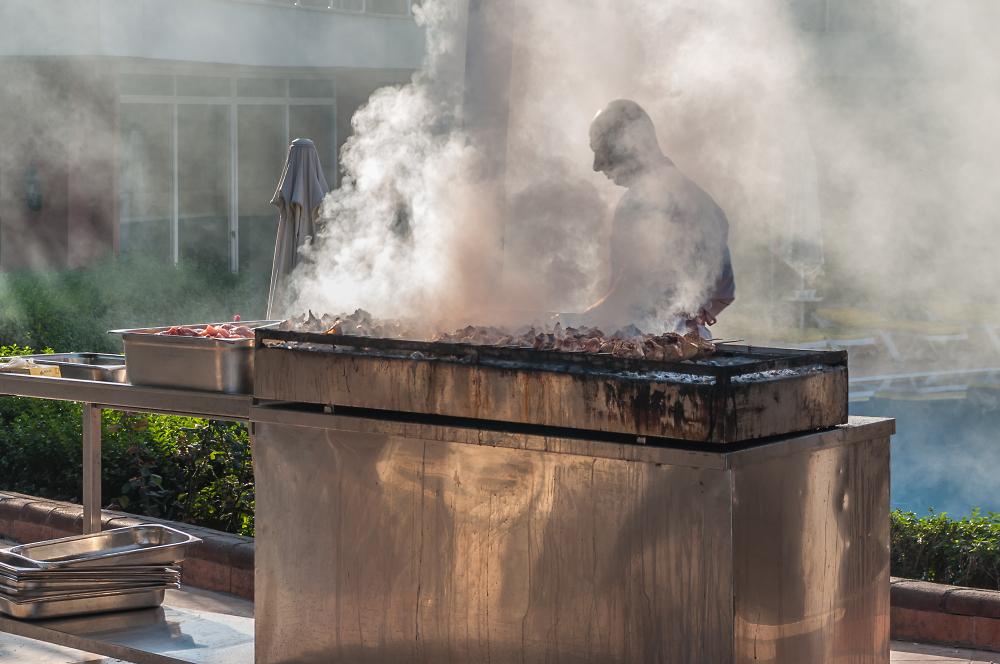 That Steak Was Here Somewhere