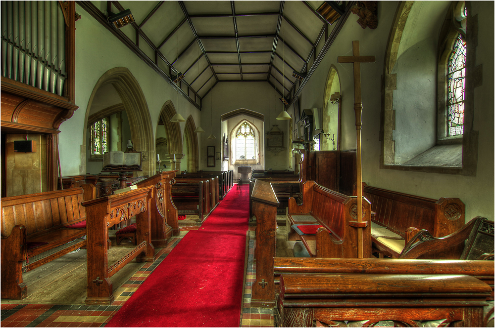 Boulge Church Interior