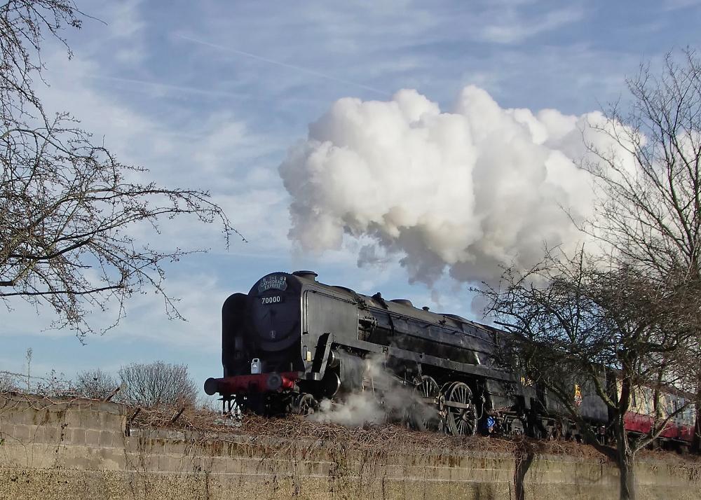 Britannia climbs the grade from Woodgrange Park