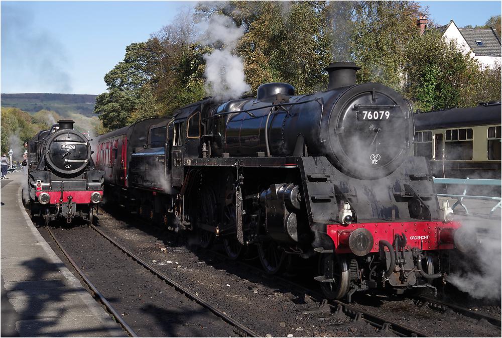 Steam at Grosmont