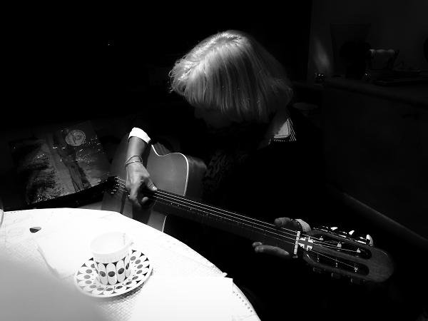 Tuning up for black and white blues