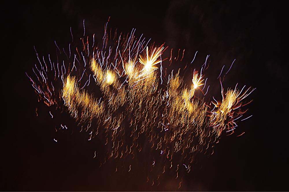Chatsworth House Firework display