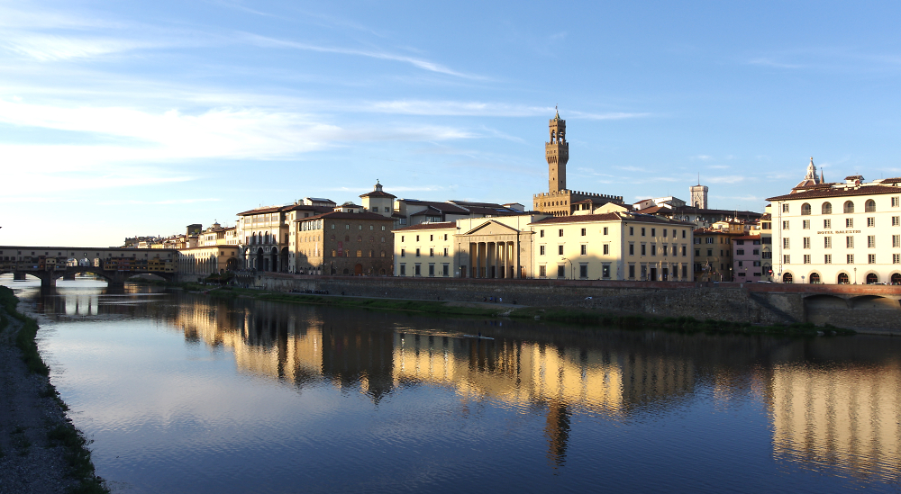 Florence river light