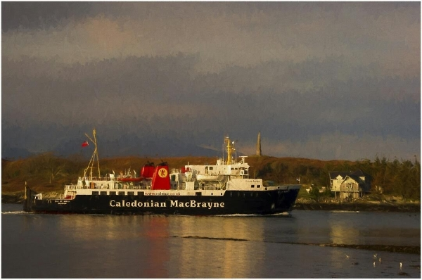 Evening Ferry to the Isle of Mill