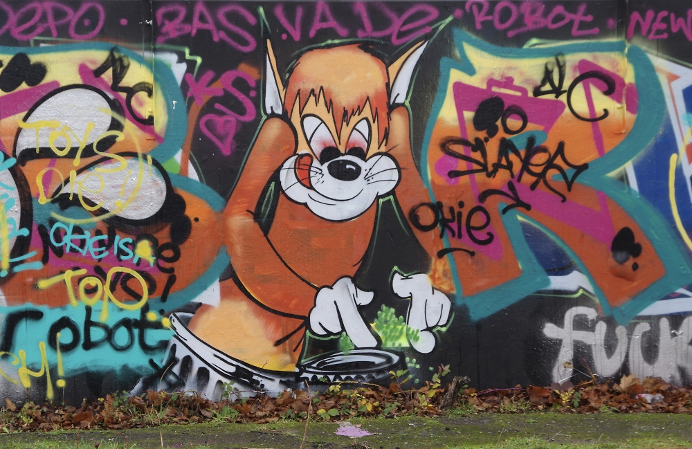 Graffiti near Poole