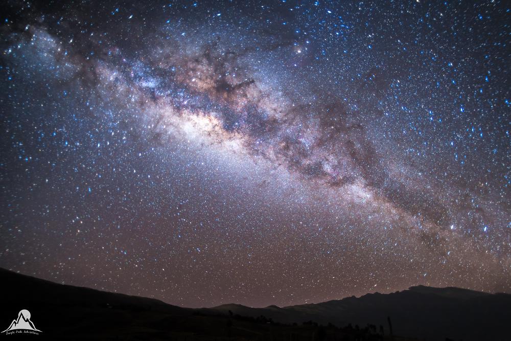 Milky Way, Simien Mountains, Ethiopa