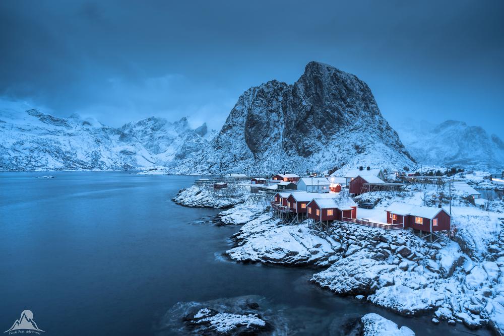 Mystic Blue Hour, Lofoten, Norway