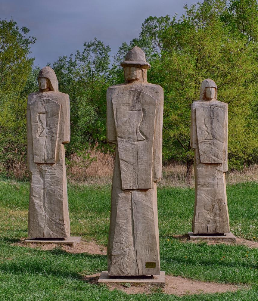 Three Hussite Warriors (HDR)
