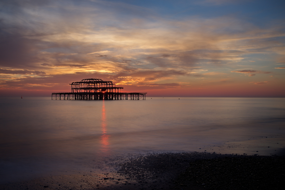 West Pier - sunset