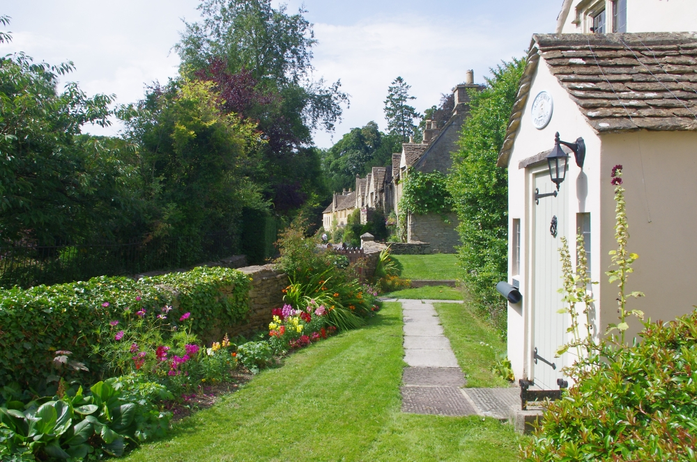 A different view of Castle Combe