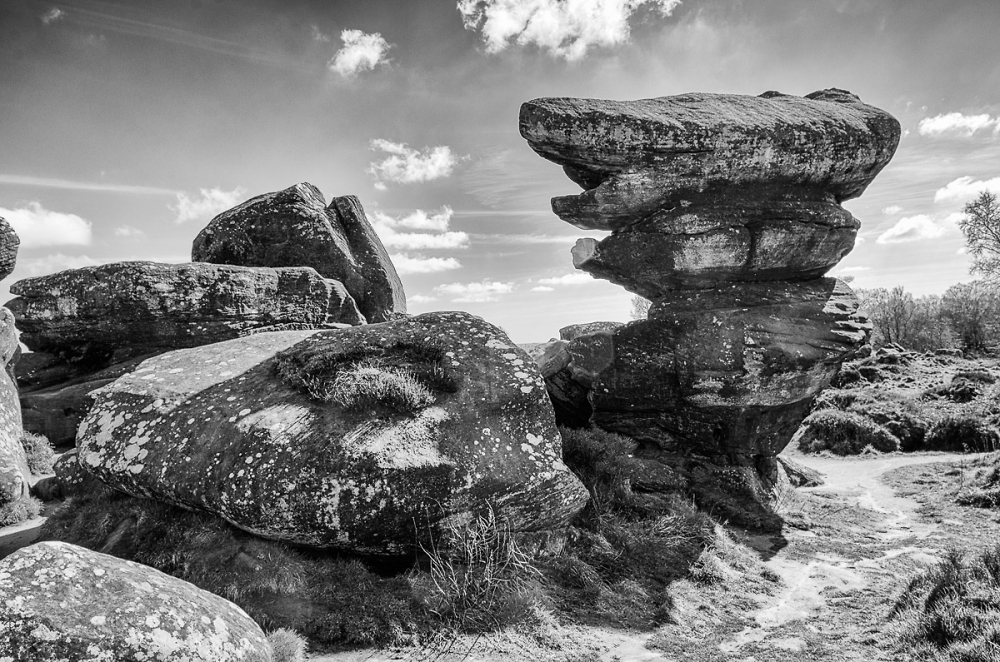 Brimham Rocks, North Yorkshire.