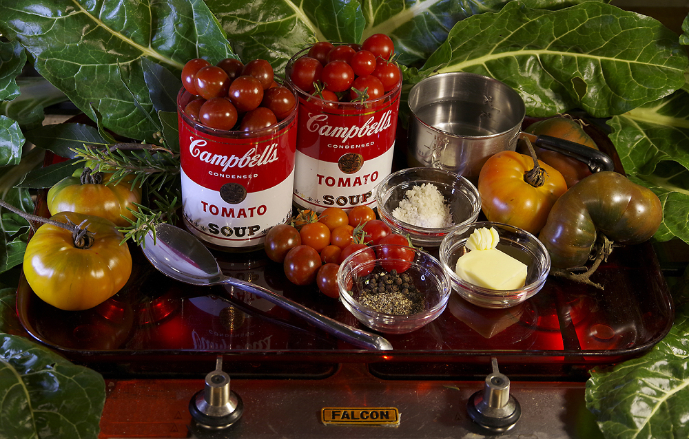 Campbell's Tomato Soup - deconstructed