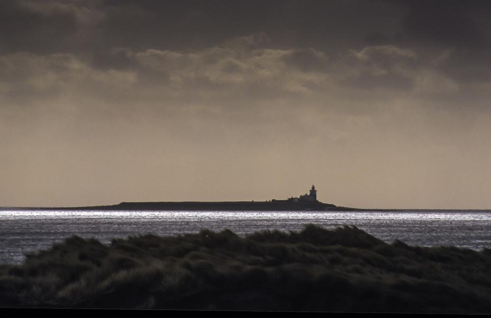Coquet Island off the Northumberland Coast.