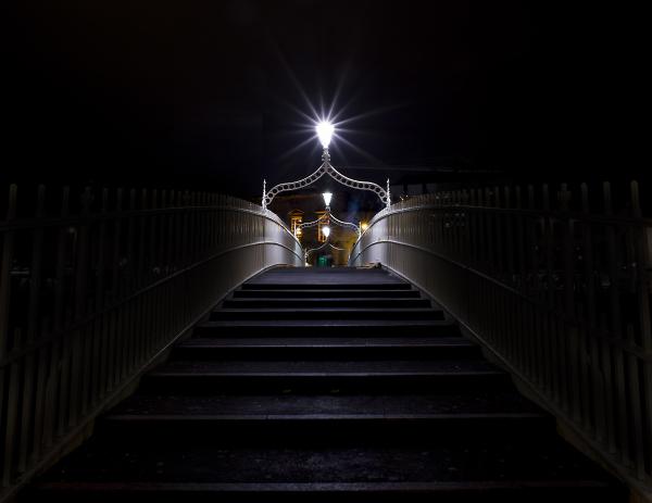 Ha'penny bridge (colour version)