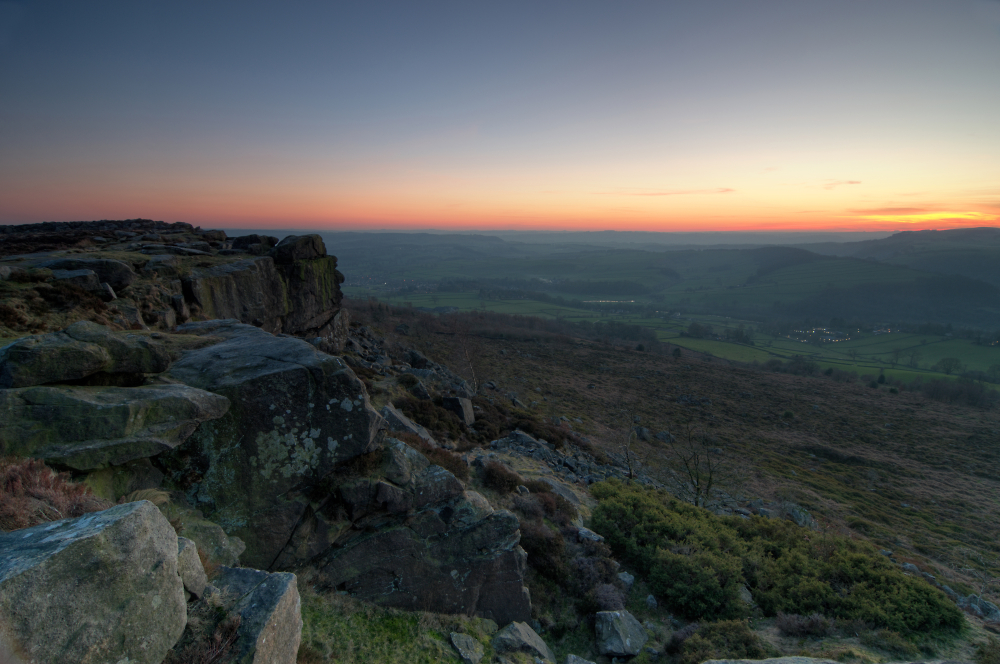 Derbyshire Sunset Vista