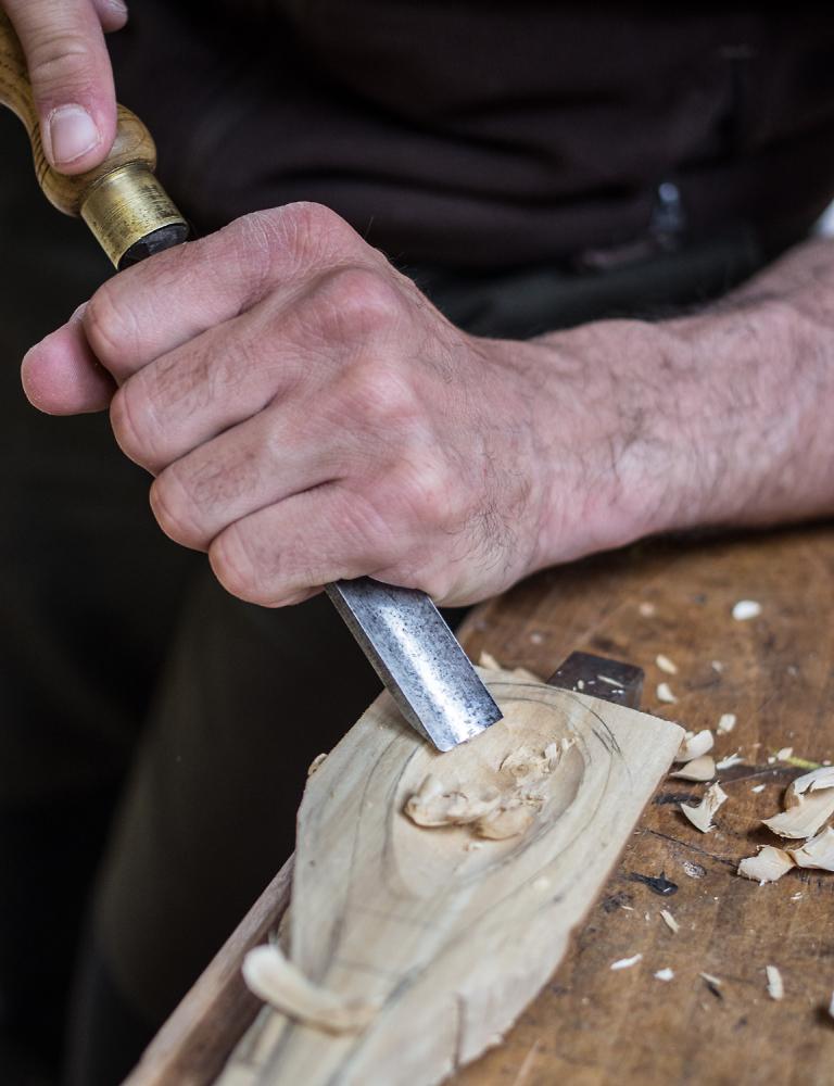 Wood carver.