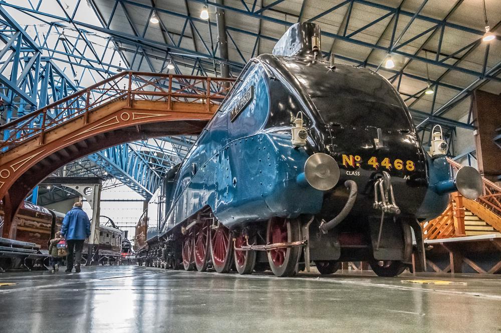 Mallard at the National Railway Museum.