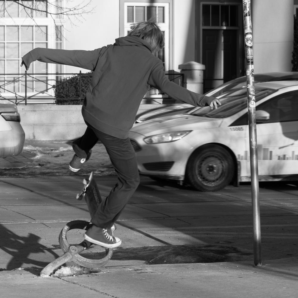 One Mean Skateboarder