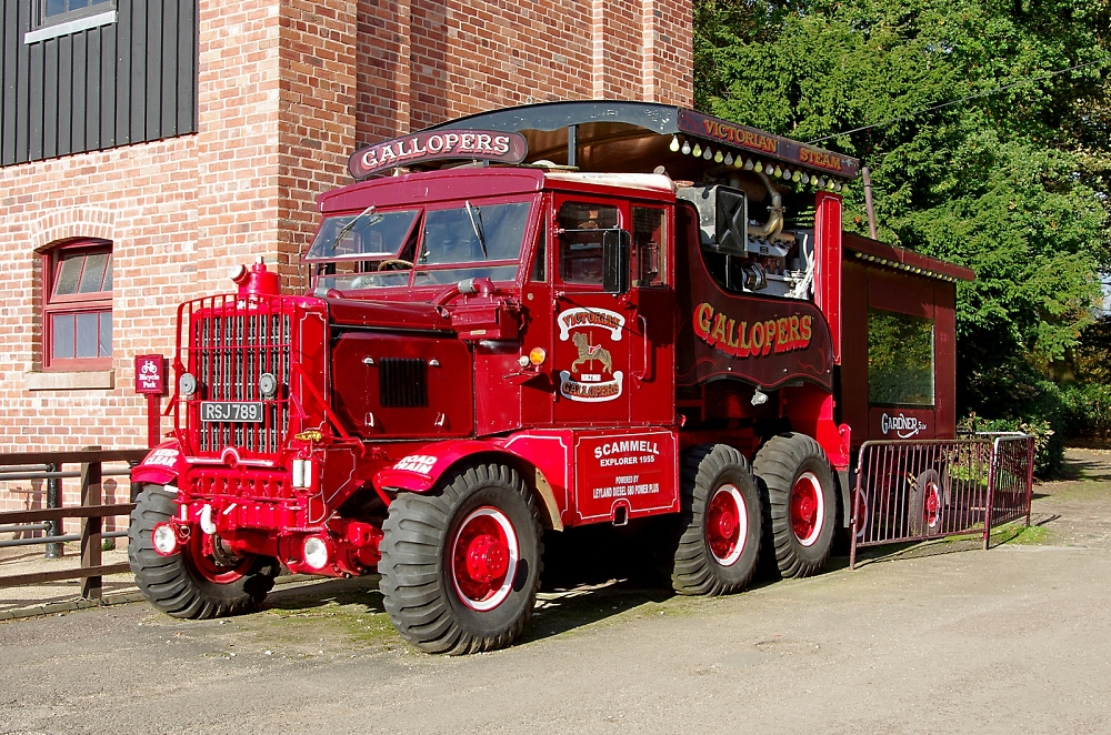 1955 Scammel tractor