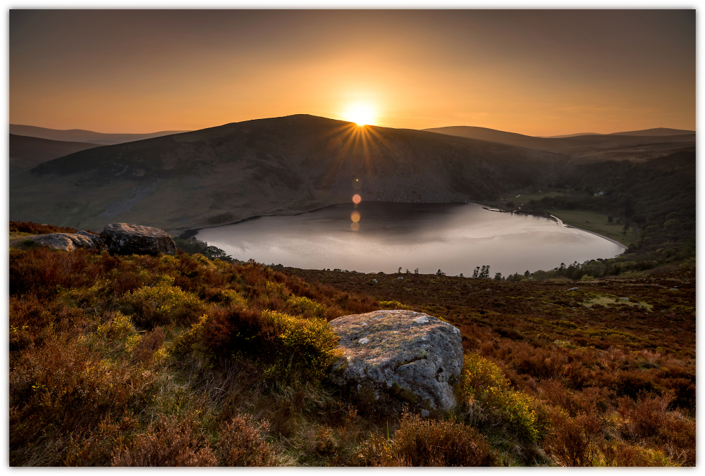 Lough Tay - Wicklow Mountains