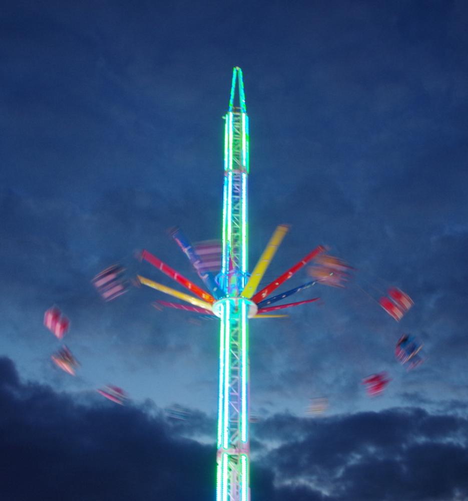 Knutsford Fairground 'Sky View' ride